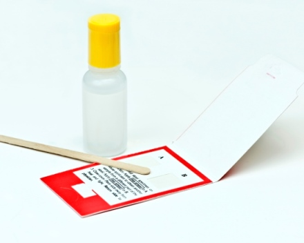 Bowel cancer screening kit